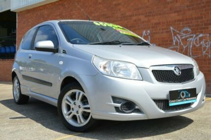 2010 Holden Barina TK MY10 Silver 5 Speed Manual Hatchback Ashmore Gold Coast City Preview