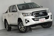 2018 Toyota Hilux GUN126R SR5 Double Cab White 6 Speed Sports Automatic Utility Albion Brisbane North East Preview