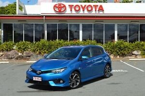 2015 Toyota Corolla ZRE182R SX S-CVT Blue 7 Speed Constant Variable Hatchback Highland Park Gold Coast City Preview