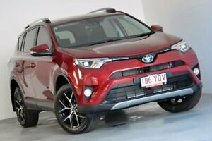 2018 Toyota RAV4 ZSA42R GXL 2WD Red 7 Speed Constant Variable Wagon Albion Brisbane North East Preview