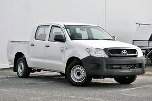 2010 Toyota Hilux TGN16R MY10 Workmate White 4 Speed Automatic Utility Tweed Heads South Tweed Heads Area Preview