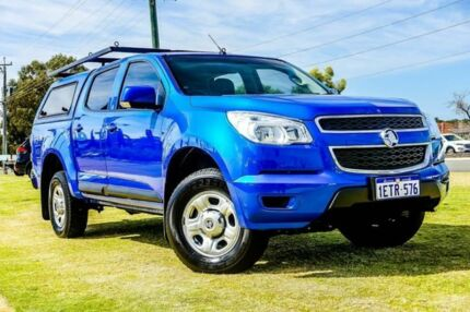 2015 Holden Colorado RG MY15 LS Crew Cab Blue 6 Speed Sports Automatic Utility Wangara Wanneroo Area Preview