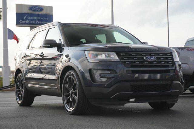 Owner 2017 Ford Explorer Xlt 35498 Miles Magnetic Metallic Sport Utility Regular Unlea