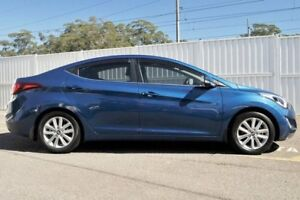2014 Hyundai Elantra MD3 SE Blue 6 Speed Manual Sedan
