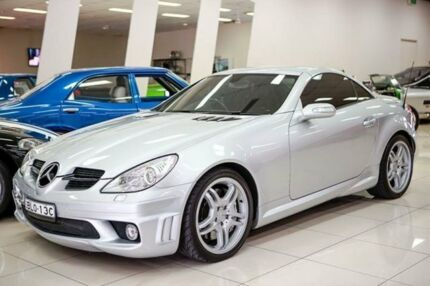 2005 Mercedes-Benz SLK R171 55 AMG Iridium Silver 7 Speed Automatic G-Tronic Convertible Carss Park Kogarah Area Preview