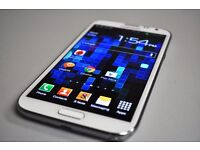 SAMSUNG GALAXY NOTE 2 16GB WHITE UNLOCKED EXCELLENT CONDITION WITH RECEIPT