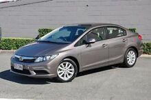 2012 Honda Civic 9th Gen VTi-L Silver 5 Speed Sports Automatic Sedan Main Beach Gold Coast City Preview