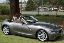 2005 BMW Z4 E85 MY05 Steptronic Grey 5 Speed Sports Automatic Roadster Leederville Vincent Area Preview