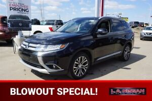 2016 Mitsubishi Outlander 4X4 GT Accident Free,  Navigation (GPS