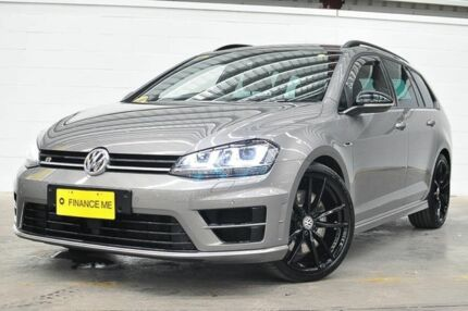 2015 Volkswagen Golf VII MY16 R DSG 4MOTION Wolfsburg Edition Grey 6 Speed