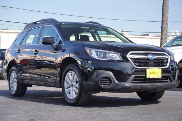 Owner 2018 Subaru Outback 2.5I 31106 Miles Crystal Black Pearl Sport Utility Regular U