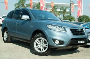 2010 Hyundai Santa Fe CM MY10 Elite Blue 6 Speed Sports Automatic Wagon Blacktown Blacktown Area Preview