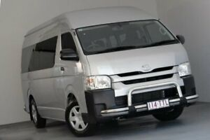 2014 Toyota HiAce TRH223R MY14 Commuter High Roof Super LWB Silver 4 Speed Automatic Bus Albion Brisbane North East Preview
