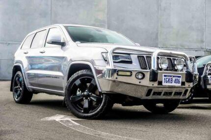 2014 Jeep Grand Cherokee WK MY2014 Blackhawk Silver 8 Speed Sports Automatic Wagon