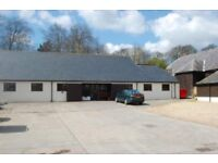 High quality office space in an attractive rural setting. 100meg fibre optic line to site.