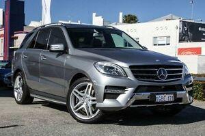 2013 Mercedes-Benz ML500 W166 7G-Tronic + Palladium Silver 7 Speed Sports Automatic Wagon Nedlands Nedlands Area Preview