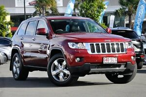 2011 Jeep Grand Cherokee WK MY2011 Limited Deep Cherry Red 5 Speed Sports Automatic Wagon Robina Gold Coast South Preview