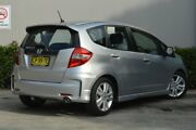 2012 Honda Jazz GE MY12 Vibe-S Silver 5 Speed Automatic Hatchback Maitland Maitland Area Preview
