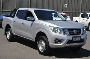 2015 Nissan Navara D23 RX Silver 7 Speed Sports Automatic Utility Knoxfield Knox Area Preview