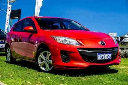 2013 Mazda 3 BL10F2 MY13 Neo Activematic Red 5 Speed Sports Automatic Hatchback Osborne Park Stirling Area Preview