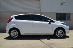 2013 Ford Fiesta WT LX PwrShift White 6 Speed Sports Automatic Dual Clutch Hatchback