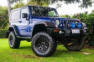 2010 Jeep Wrangler JK MY2010 Sport Blue 6 Speed Manual Softtop Osborne Park Stirling Area Preview