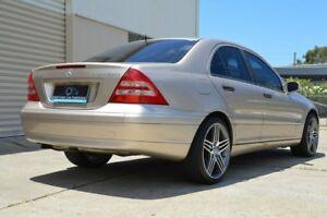 2001 Mercedes-Benz C200 Kompressor W203 Classic Bronze 5 Speed Sports Automatic Sedan