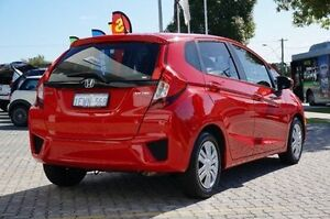 2015 Honda Jazz GF MY16 VTi Red 1 Speed Constant Variable Hatchback St James Victoria Park Area Preview