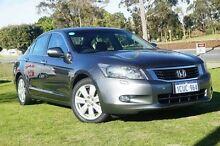 2008 Honda Accord 8th Gen V6 Luxury Grey 5 Speed Sports Automatic Sedan Wangara Wanneroo Area Preview
