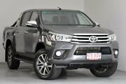 2017 Toyota Hilux GUN126R SR5 Double Cab Grey 6 Speed Sports Automatic Utility Kedron Brisbane North East Preview