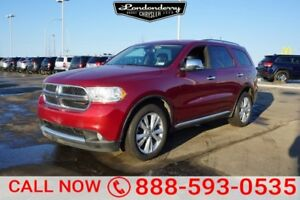 2013 Dodge Durango AWD LIMITED Navigation (GPS),  Rear DVD,  Lea
