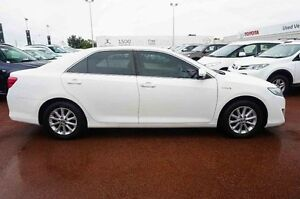 2012 Toyota Camry AVV50R Hybrid H White 1 Speed Constant Variable Sedan Hybrid Westminster Stirling Area Preview