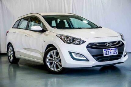 2013 Hyundai i30 GD Active Tourer White 6 Speed Sports Automatic Wagon Wangara Wanneroo Area Preview