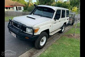 2011 Toyota Landcruiser VDJ76R MY10 Workmate White 5 Speed Manual Wagon