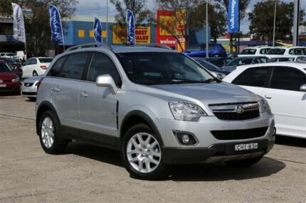 2012 Holden Captiva CG Series II 5 (FWD) Silver 6 Speed Automatic Wagon Campbelltown Campbelltown Area Preview