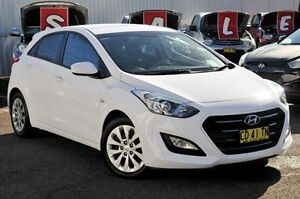 2015 Hyundai i30 GD3 Series II MY16 Active DCT White 7 Speed Sports Automatic Dual Clutch Hatchback Gosford Gosford Area Preview