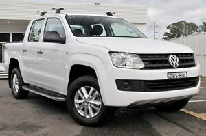 2015 Volkswagen Amarok 2H MY15 TDI420 4MOTION Perm Core White 8 Speed Automatic Utility Gosford Gosford Area Preview