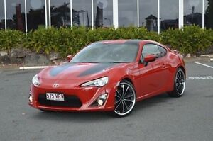 2013 Toyota 86 ZN6 GTS Red 6 Speed Sports Automatic Coupe Highland Park Gold Coast City Preview