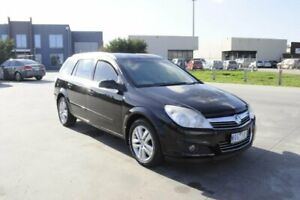 2008 Holden Astra AH MY09 CDTi Black 6 Speed Automatic Wagon Hoppers Crossing Wyndham Area Preview
