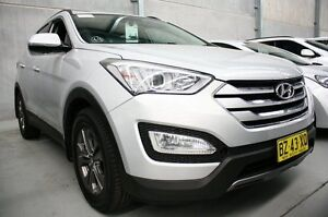 2014 Hyundai Santa Fe DM MY14 Active Silver 6 Speed Sports Automatic Wagon Maryville Newcastle Area Preview