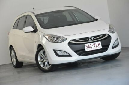 2014 Hyundai i30 GD Active Tourer White 6 Speed Sports Automatic Wagon Indooroopilly Brisbane South West Preview