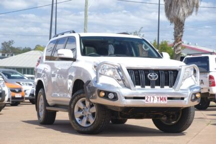2014 Toyota Landcruiser Prado KDJ150R MY14 GXL White 5 Speed Sports Automatic Wagon Moorooka Brisbane South West Preview
