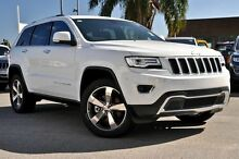 2015 Jeep Grand Cherokee WK MY15 Limited (4x4) Bright White 8 Speed Automatic Wagon Blacktown Blacktown Area Preview