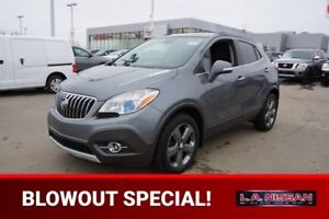 2014 Buick Encore ALL WHEEL DRIVE Back-up Cam,  Bluetooth,