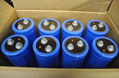 Qty8 - New Cornell Dubilier 6000 Uf 400vdc Electrolytic Capacitor 105c Cde