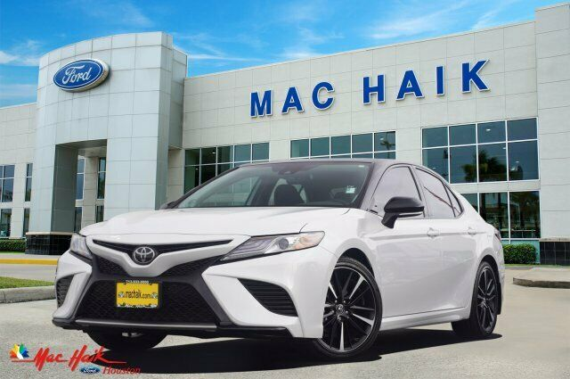 2019 Toyota Camry Xse 5284 Miles White 4dr Car Regular Unleaded I-4 2.5 L/152 Au