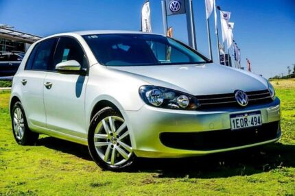 2012 Volkswagen Golf VI MY12.5 118TSI DSG Comfortline Silver 7 Speed Sports Automatic Dual Clutch
