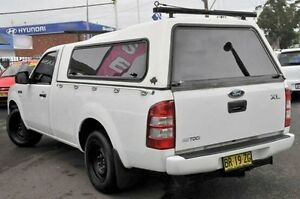 2008 Ford Ranger PJ XL White 5 Speed Manual Utility North Gosford Gosford Area Preview