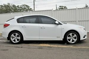 2013 Holden Cruze JH Series II MY13 CD White 6 Speed Sports Automatic Hatchback Gosford Gosford Area Preview
