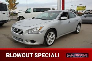 2013 Nissan Maxima SV Accident Free,  Leather,  Heated Seats,  S